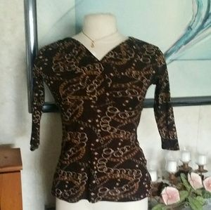 Willi Smith Ladies Top